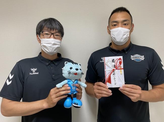 京都ハンナリーズ選手一同から医療従事者の方々への寄付に関するご報告