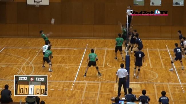 2015秋季リーグ戦 中央大学vs専修大学