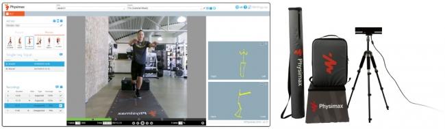 AIで運動能力を計測し、トレーニングを提案するPhysimax。ACTIVATE GYM (静岡県)が導入・運用開始
