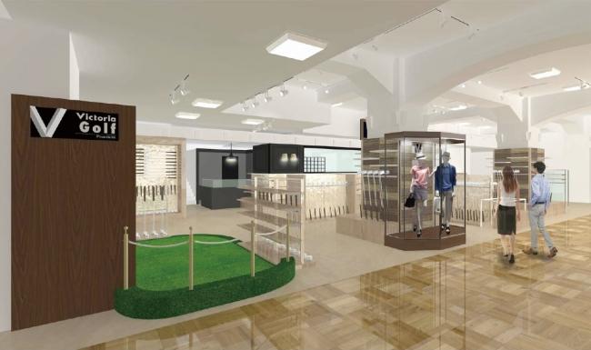 「Victoria Golf Premium(ヴィクトリアゴルフプレミアム)日本橋三越店」日本橋三越本店 本館4Fにグランドオープン