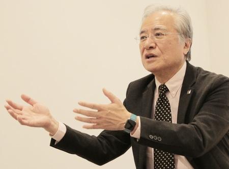 情報連携学部 情報連携学科 坂村 健 教授1