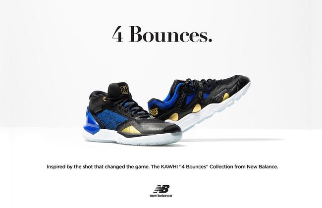 カワイ・レナードからインスピレーションを得た「THE KAWHI 4 Bounces」コレクション登場