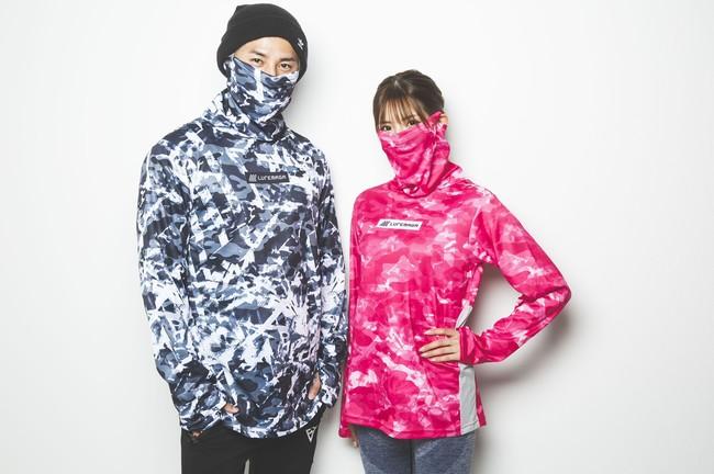 マスクいらず!? フェイスマスク付きスポーツウェア『オールバリアシャツ』を限定販売!!