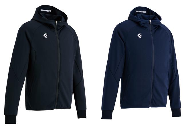 コンバースバスケットボール、スリムタイプのアクティブジャージジャケット&パンツを発売︕