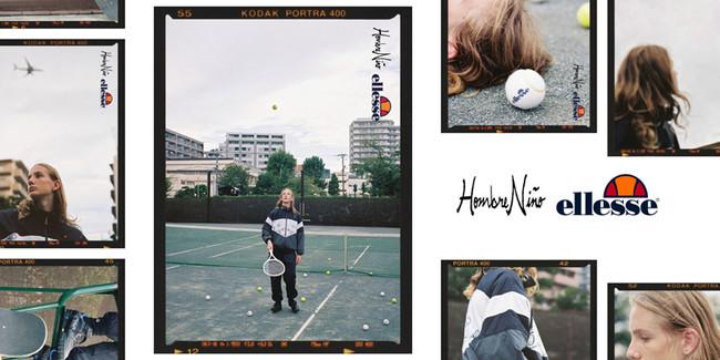 スケーターYOPPIが手掛けるブランド「Hombre Niño」とのコラボレーションコレクション第2弾 「ellesse×Hombre Niño」