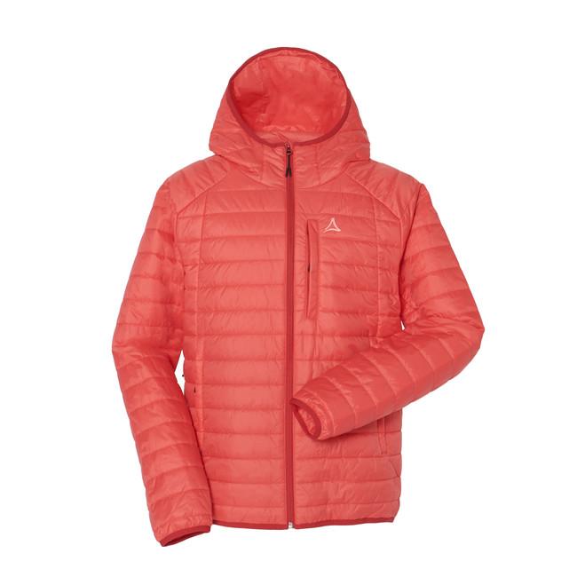 ショッフェル「INSULATION PARKER」消臭機能を備えた素材S.Café®採用の中綿ジャケット