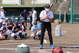 今年度初の「JA全農WCBF少年野球教室」王貞治理事長が子どもたちに熱血指導!10月3日に千葉県成田市で開催