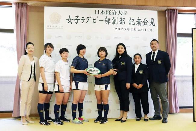 【日本経済大学】~新型コロナウイルス乗り越え~今年創部女子ラグビー部「AMATERUS」初の公式戦