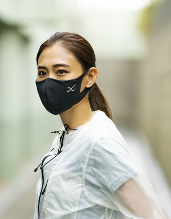「CW-X」から伸びる素材でやさしい着用感のマスクが新発売『CW-X SPORTS MASK for light exercise』~10月15日(木)より事前予約受付開始~