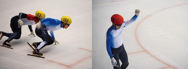 株式会社シュゼット・ホールディングス所属のスピードスケートショートトラック選手、小山陸が第66回西日本ショートトラックスピードスケート選手権大会で男子総合優勝!