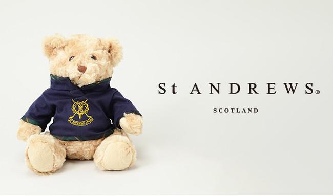 ゴルフアパレルブランド『St ANDREWS』がギフトに最適なテディベアのゴルフアクセサリーを発売