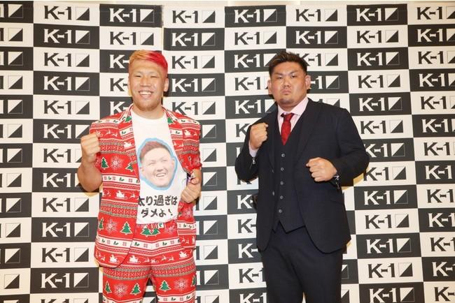 京太郎、K-1復帰戦となる1.24(日)「K'FESTA.4」の対戦相手が決定!記者会見で「蹴ったら足が痛いんで、蹴りは使いません!」と衝撃発言