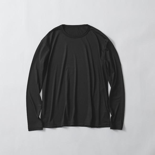 SMOOTH WOOL T-SHIRT LONG SLEEVE(ユニセックス)¥11,000