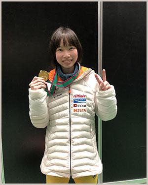 第16回ボルダリングジャパンカップにてZETAが応援する第5期JMSCAオリンピック強化選手の森秋彩選手が初優勝しました