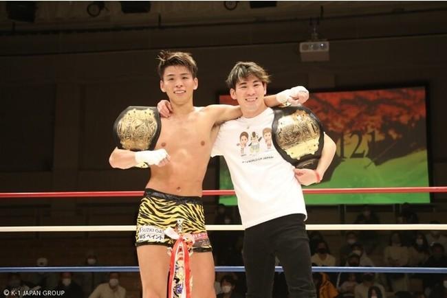 令和3年1月23日、東京・後楽園ホール 第8代Krushウェルター級王者加藤 虎於奈