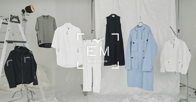 "Mizuno ""【EM】SELECTION"" 初のPOP UPをMIYASHITA PARKに期間限定オープン"
