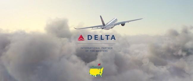 デルタ航空、4年連続で「マスターズ・トーナメント」のインターナショナル・パートナーとして協賛