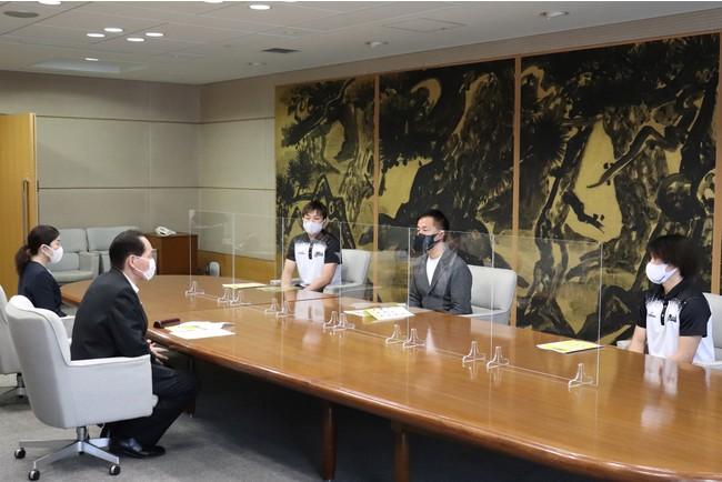 【香川ファイブアローズ】香川県知事への表敬訪問のご報告