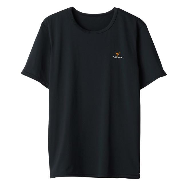 リフレッシュ T シャツ メンズ(ブラック)