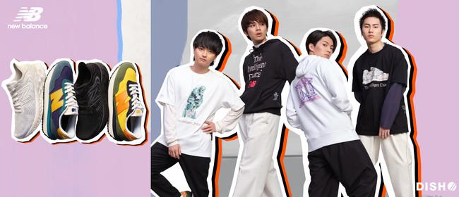 大人気ロックバンド「DISH//」が着用、ニューバランスのアパレル「Artist pack」をスーパースポーツゼビオで8月より発売。