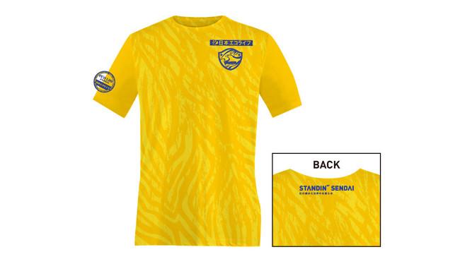 9月25日 徳島戦 ユアスタをゴールドに染めろ!来場者全員 Tシャツプレゼント