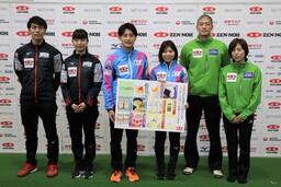JA全農が「もぐもぐブース」で応援!! 「全農2021ミックスダブルスカーリング日本代表決定戦」が開幕