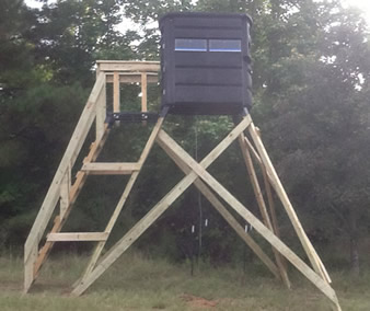The Sportsmans Condo Deck  Southern Outdoor Technologies