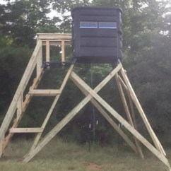 Chair Design Metal Childrens Chairs The Sportsman's Condo Deck | Southern Outdoor Technologies