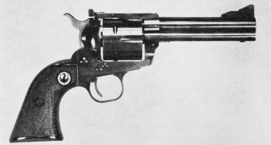 Ruger Blackhawk Flattop Model