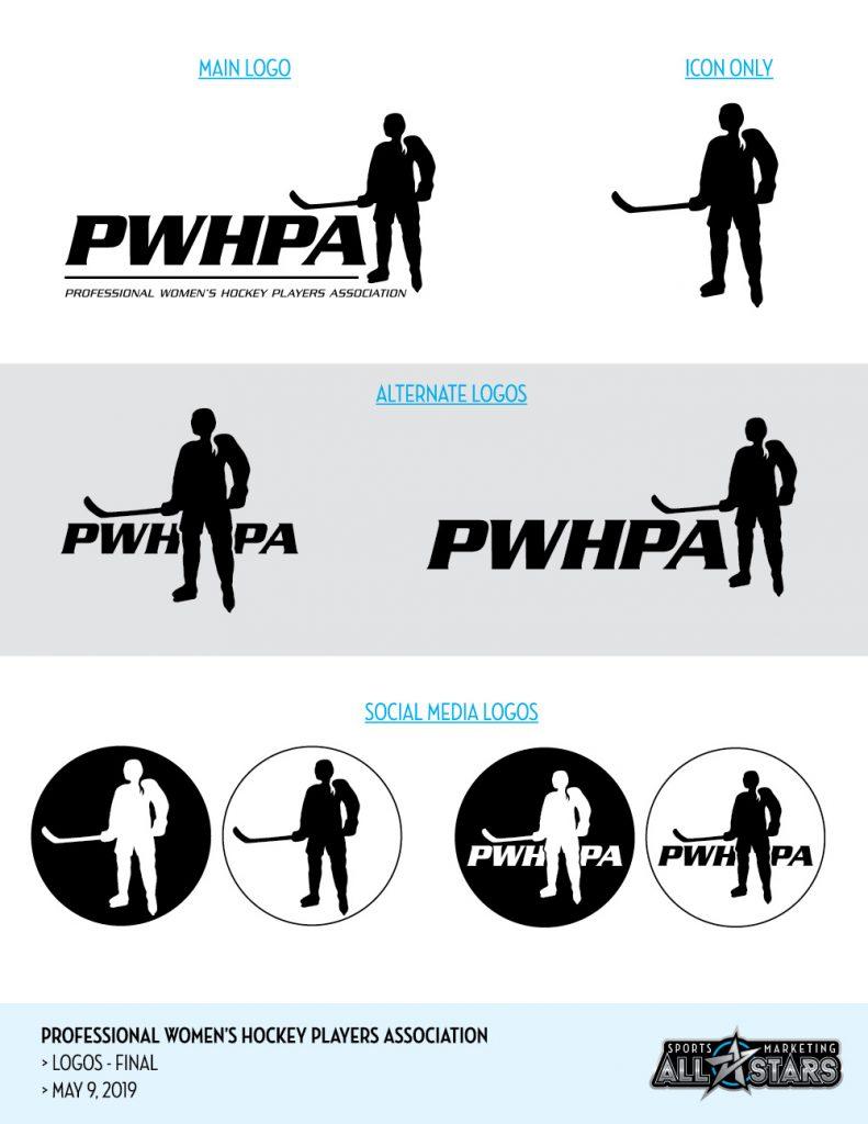PWHPA logo sheet