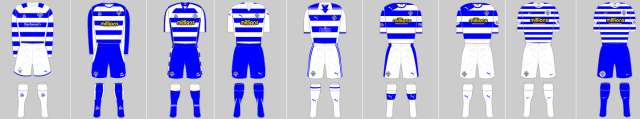 Greenock Morton kits