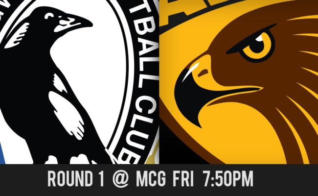 Collingwood Vs Hawthorn Afl Round One Match Preview