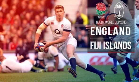 England Vs Fiji Rugby
