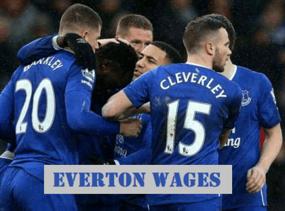 Everton salary
