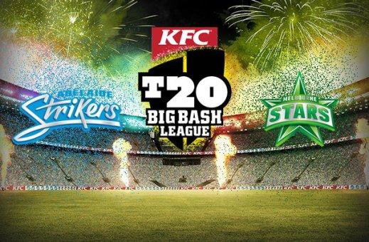 Adelaide Strikers Vs Melbourne Stars