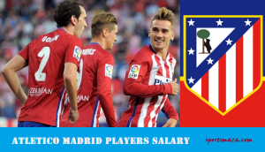 Atletico Madrid Players Wage Bills 2017 [Current squad]