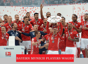 Bayern Munich players salary