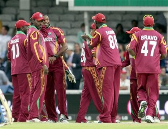 West Indies players in Ram Slam