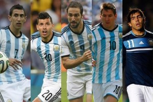 Argentina possible Team squad for FIFA World Cup 2018