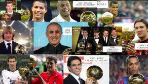 List of FIFA Ballon d'Or Award Winners (Since 1956 to 2015)