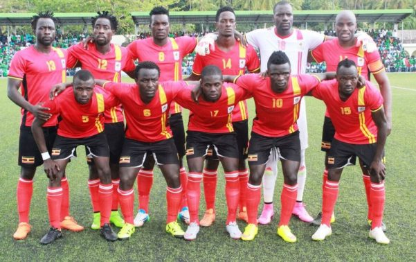 Uganda Vs Gabon football