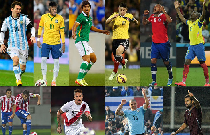 hot footballers of CA 2016