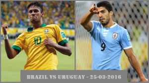 (WCQ) Brazil 2 – 2 Uruguay Match Highlights [Suarez & Cavani scored goal]