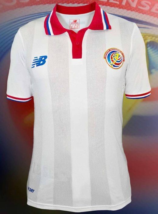 Costa Rica Away Kit for Copa America 2016