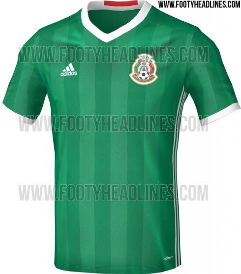 Mexico Home Kit for Copa America 2016