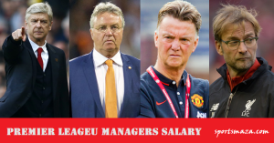 All English Premier League Managers Salary List (2017-18)
