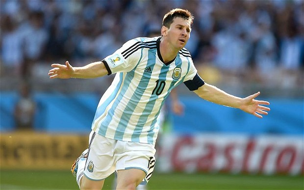 World No 1 Footballer - Lionel Messi