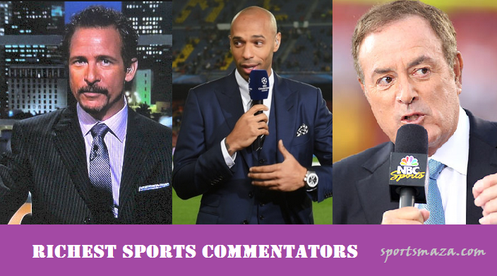 richest sports commentators