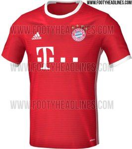 Bayern Munich All Jersey 2016-17 season (Leaked)