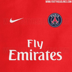 Paris Saint Germain Red Away Kit 2016-17 (Revealed)